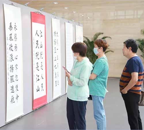 20210913赵红岩书法(保税区)