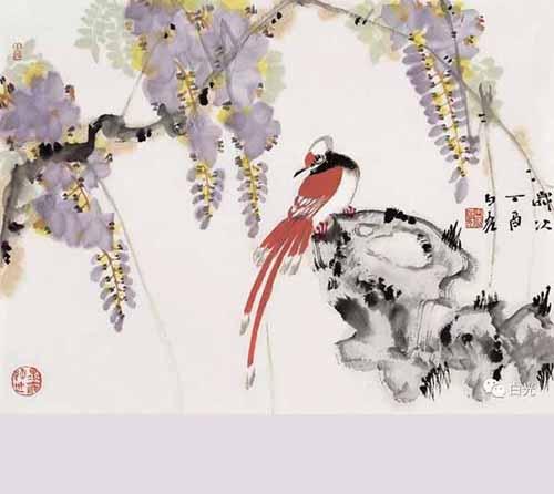 【预告】花鸟画的构图及技法